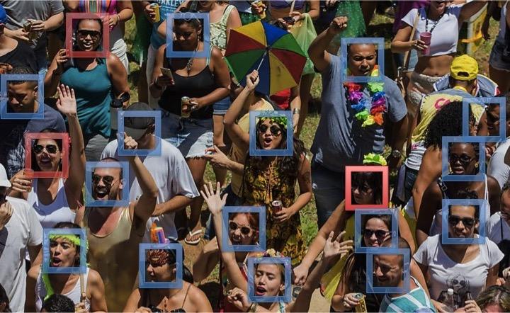 Abram alas para o Carnaval com reconhecimento facial!